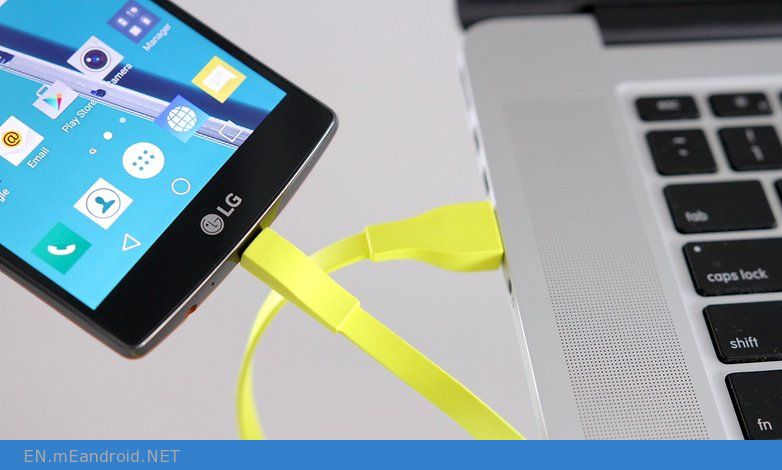 AndroidPIT smartphone usb pc in March
