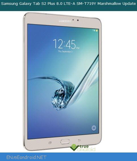 Root Samsung SM-T719Y Galaxy Tab S2 Plus 8 0 On Android 6 0 1