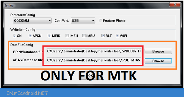 How to use Read and Write Tool to Flash IMEI 2018