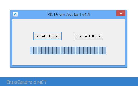 Driverassistant simplified method to install rockchip usb.